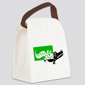 ALLIGATOR [6] Canvas Lunch Bag